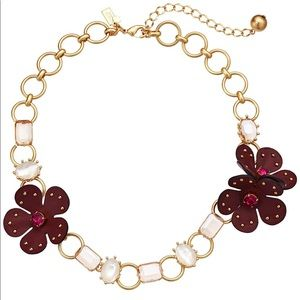 Kate Spade New York Blooming Bling Necklace, NWT